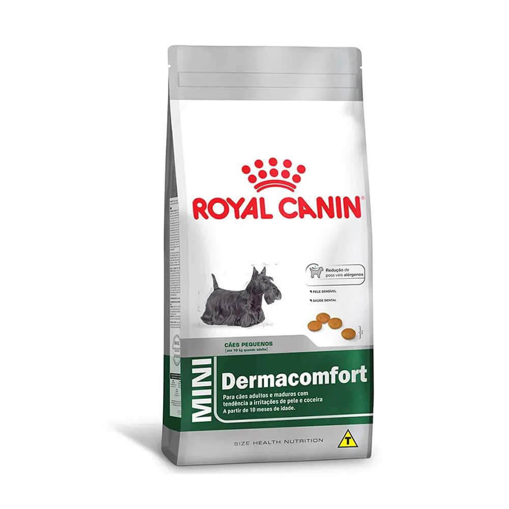 Ração Royal Canin Mini Dermacomfort 2,5kg