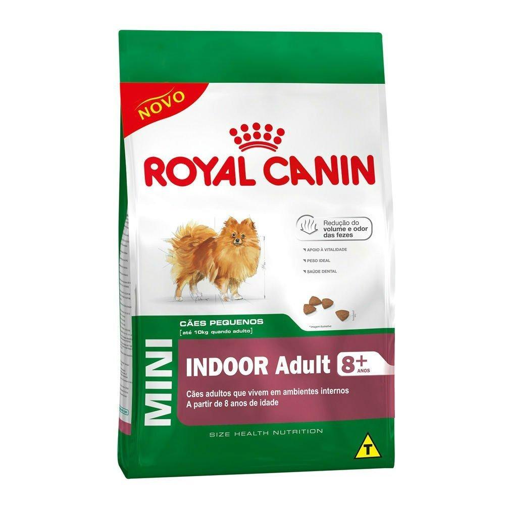 Ração Royal Canin Mini Indoor Adult Acima 8 Anos 2,5 kg