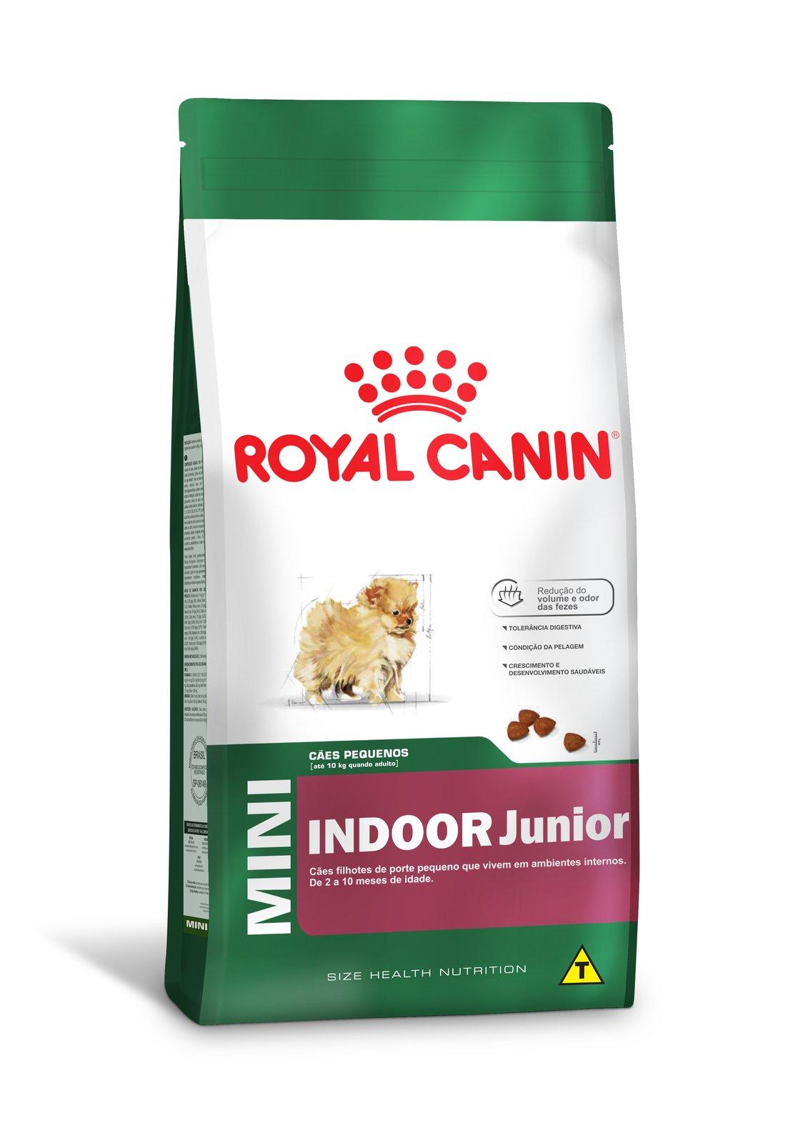 Ração Royal Canin Mini Indoor Junior 7,5 kg