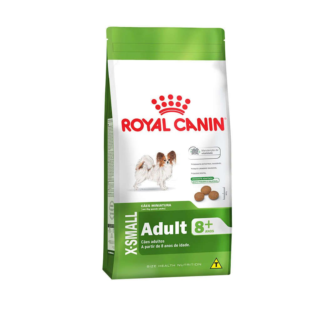 Ração Royal Canin X-Small Adult 8 + 1 kg