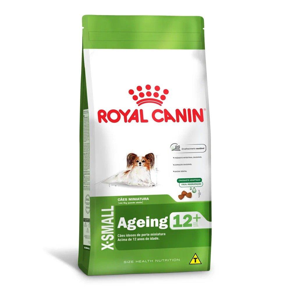 Ração Royal Canin X-Small Ageing 12+anos Miniatura 1 kg
