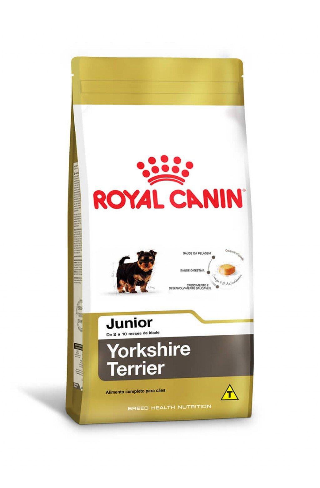 Ração Royal Canin Yorkshire Terrier Junior 1,0 kg