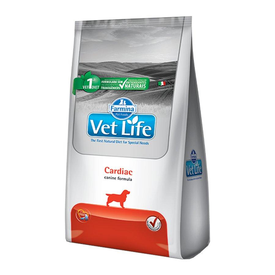 Ração Vet Life Canine Cardiac 2 kg