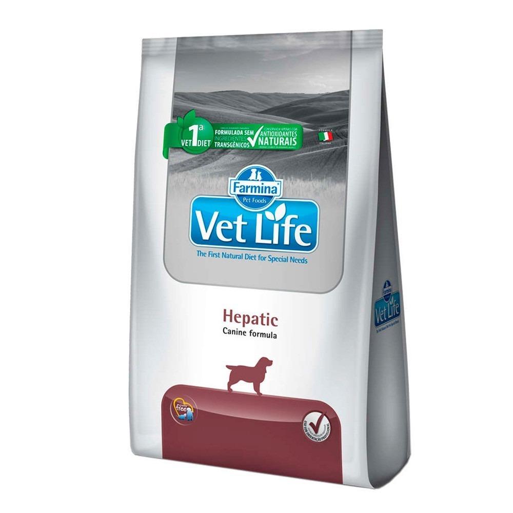 Ração Vet Life Canine Hepatic 2 kg