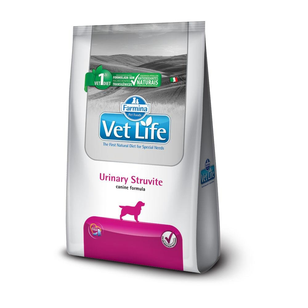 Ração Vet Life Canine Urinary Struvite  2 kg