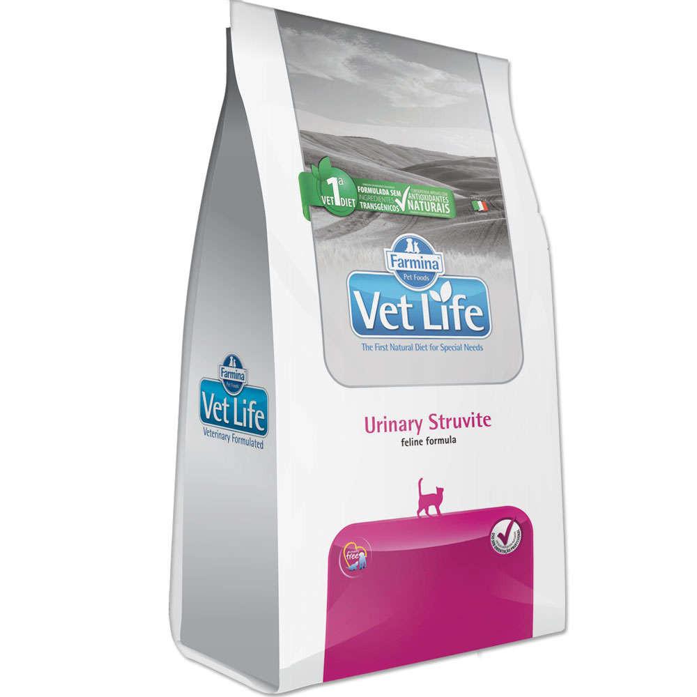 Ração Vet Life Feline Urinary Struvite 7,5kg