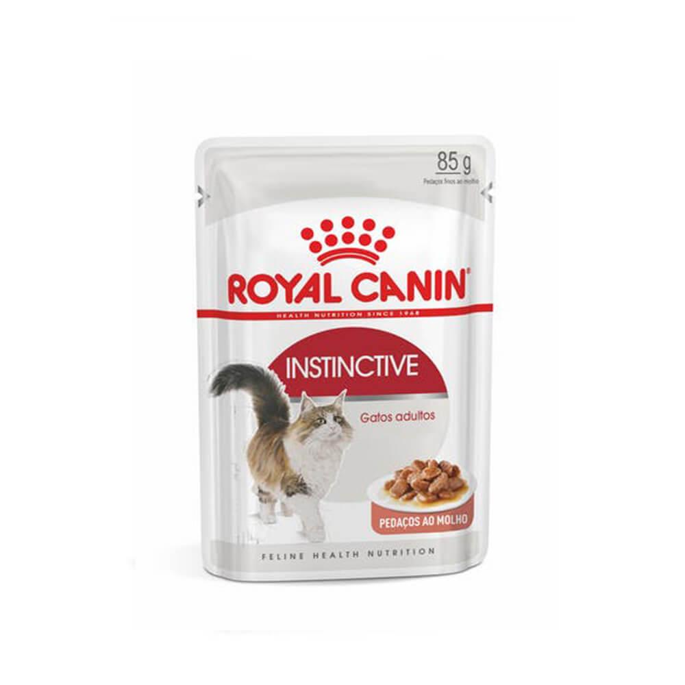 Royal Canin Instinctive Alimento Úmido Gatos Sache 85g