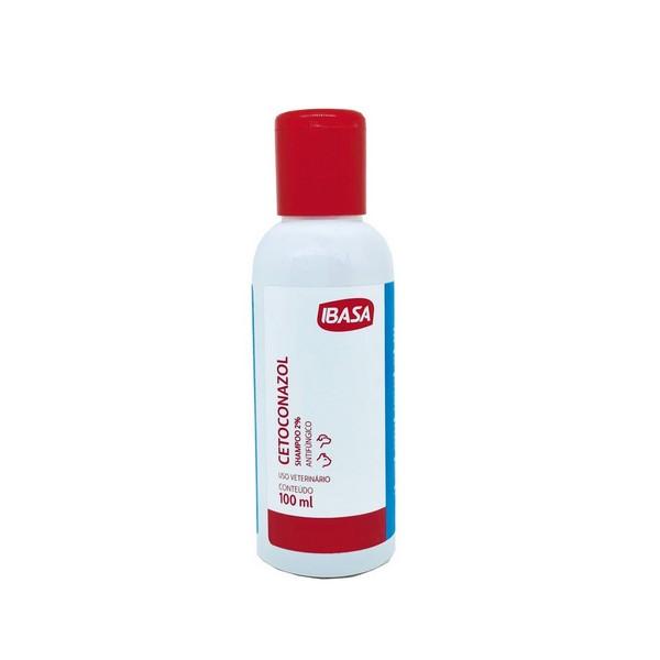 Shampoo Antifúngico Cetoconazol Ibasa 100ml