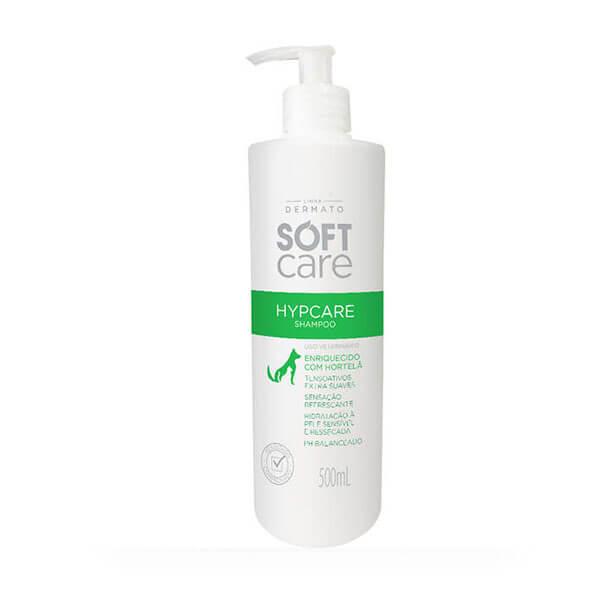 Shampoo para Cães e Gatos com peles sensíveis Hypcare Soft Care 500 ml