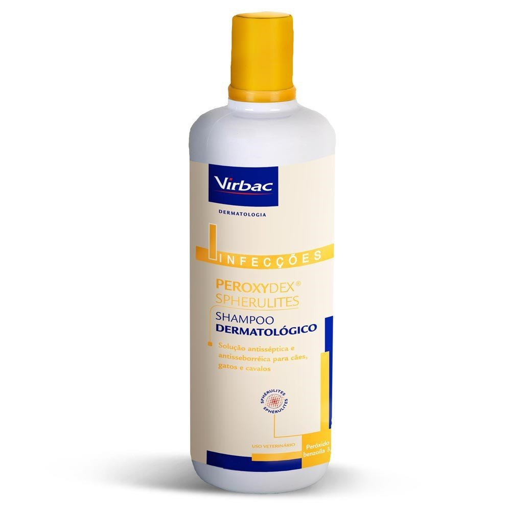 Shampoo Peroxydex Spherulites Virbac 500 ml