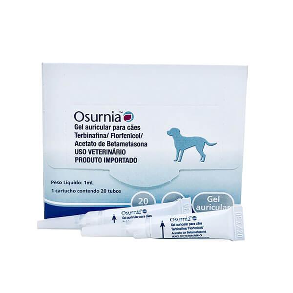 Solução Otológica Osurnia Gel Elanco 1 ml x 2 Tubos