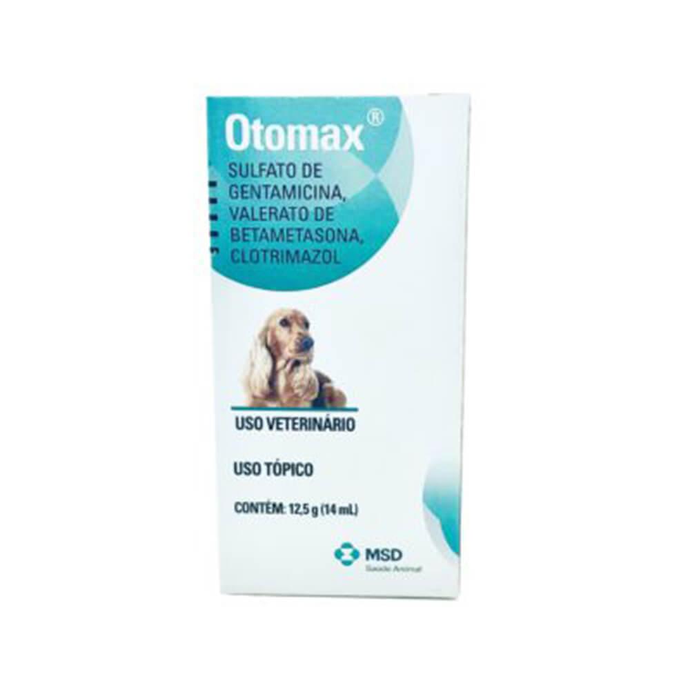 Solução Otológica Otomax Liquido MSD 12,5g
