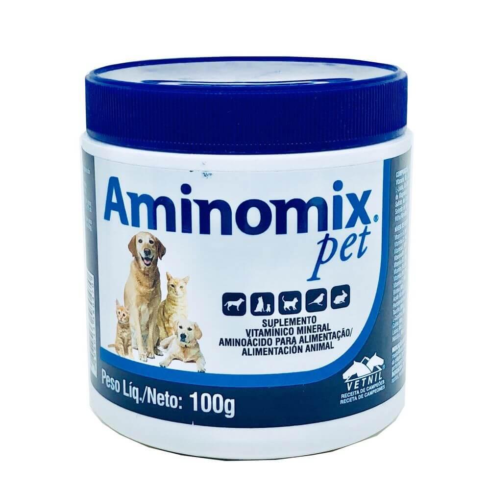 Suplemento Alimentar Aminomix Pet Vetnil 100 g