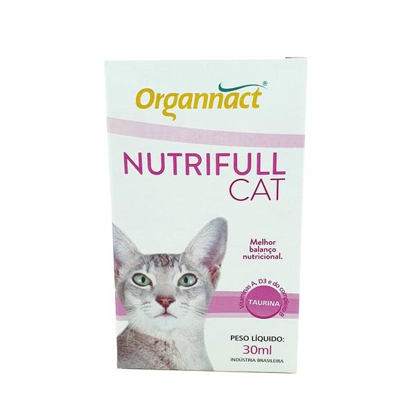 Suplemento Alimentar Completo Nutrifull Cat Organnact 30 ml