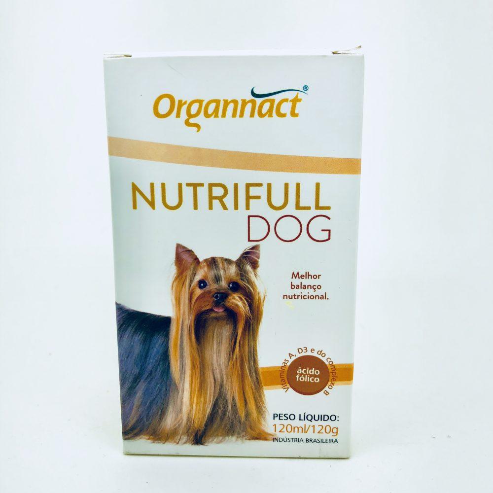 Suplemento Alimentar Nutrifull Dog 120 ml Organnact