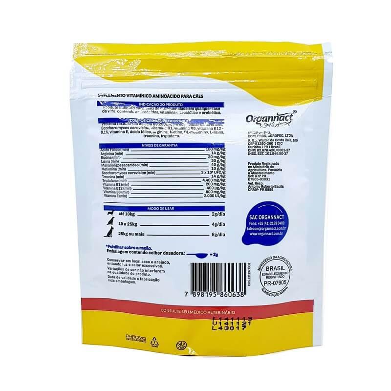 Suplemento Alimentar Promun Dog Po Organnact 50g