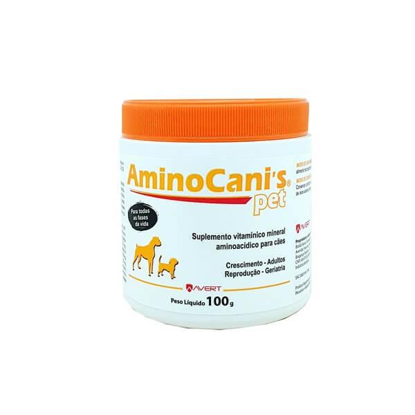 Suplemento Aminocanis Pet Avert 100 g