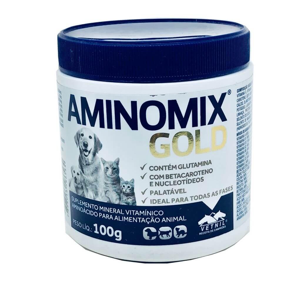 Suplemento Aminomix Gold Vetnil 100 g