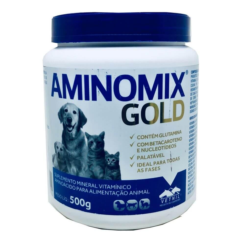 Suplemento Aminomix Gold Vetnil 500 g