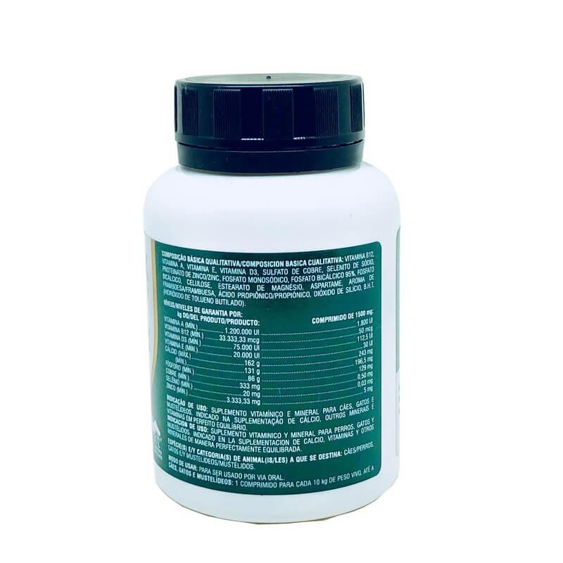 Suplemento Cal-D-Mix Vetnil 30 Comprimidos