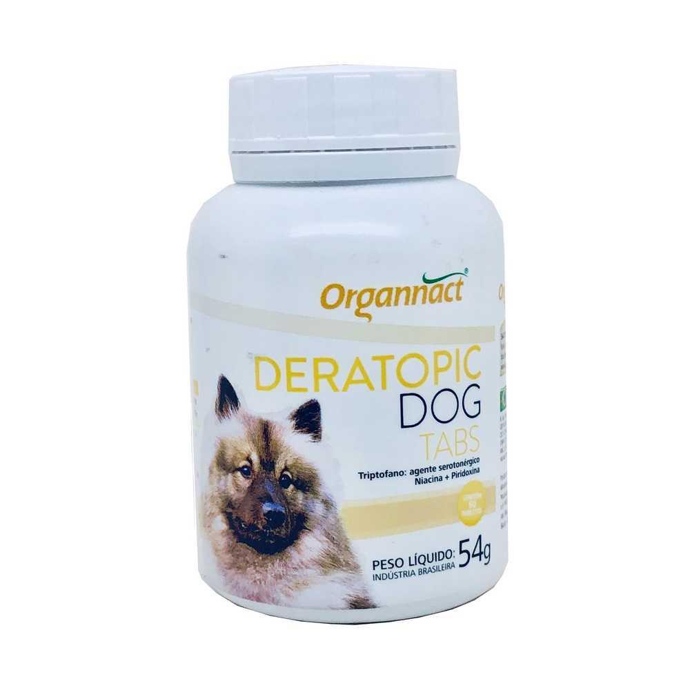Suplemento Deratopic Dog Tabs Organnact 54 g