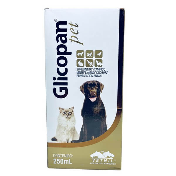 Suplemento Glicopan Pet Vetnil 250 ml