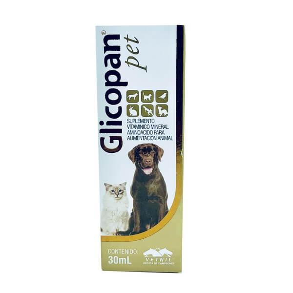 Suplemento Glicopan Pet Vetnil 30 ml