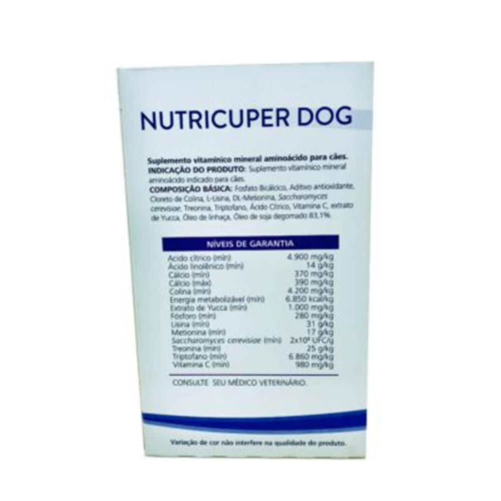 Suplemento Nutricuper Liquido Organnact 120 ml