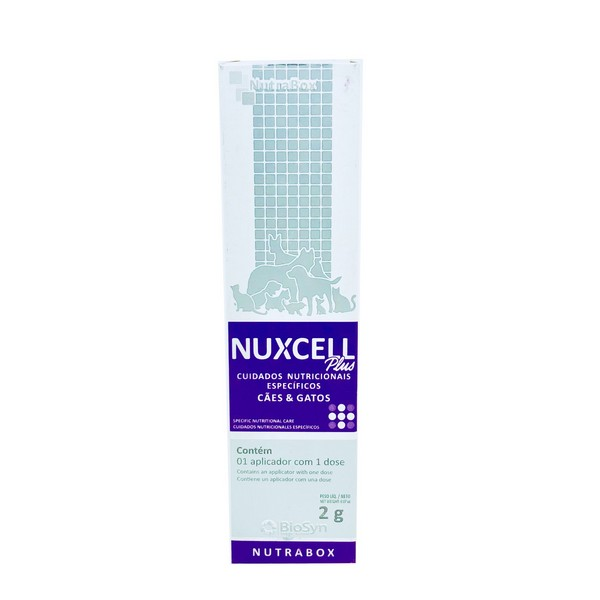Suplemento Nuxcell Plus Biosyn 2 g