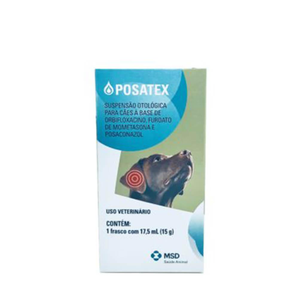 Suspensão Otológica Posatex MSD 17,5 ml
