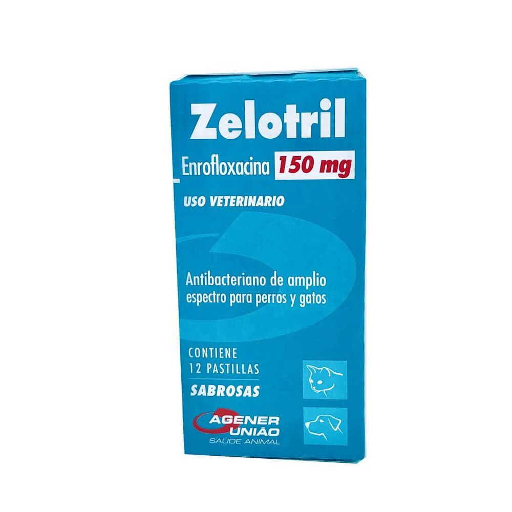 Zelotril Antibiótico Agener União 150 mg 12 Comprimidos