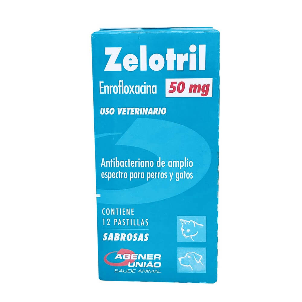 Zelotril Antibiótico Agener União 50 mg 12 Comprimidos
