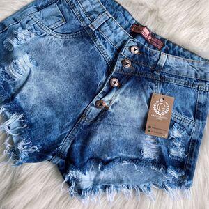 Shorts Jeans Claro