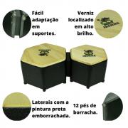Bongô Percussão Bongô Hexagonal Jhamma Percussões