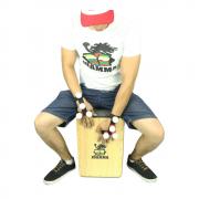 Luva Shaker Para Cajón Acessório Jhamma Percussões (unidade)