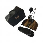 Pedal Para Cajón Reto e Inclinado + Bag de Transporte Jhamma Percussões
