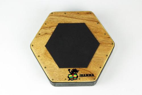 Pedal Para Cajon + Caixa Cajon + Baquetas Jhamma Percussões