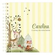 Livro do Bebê Floresta Menina
