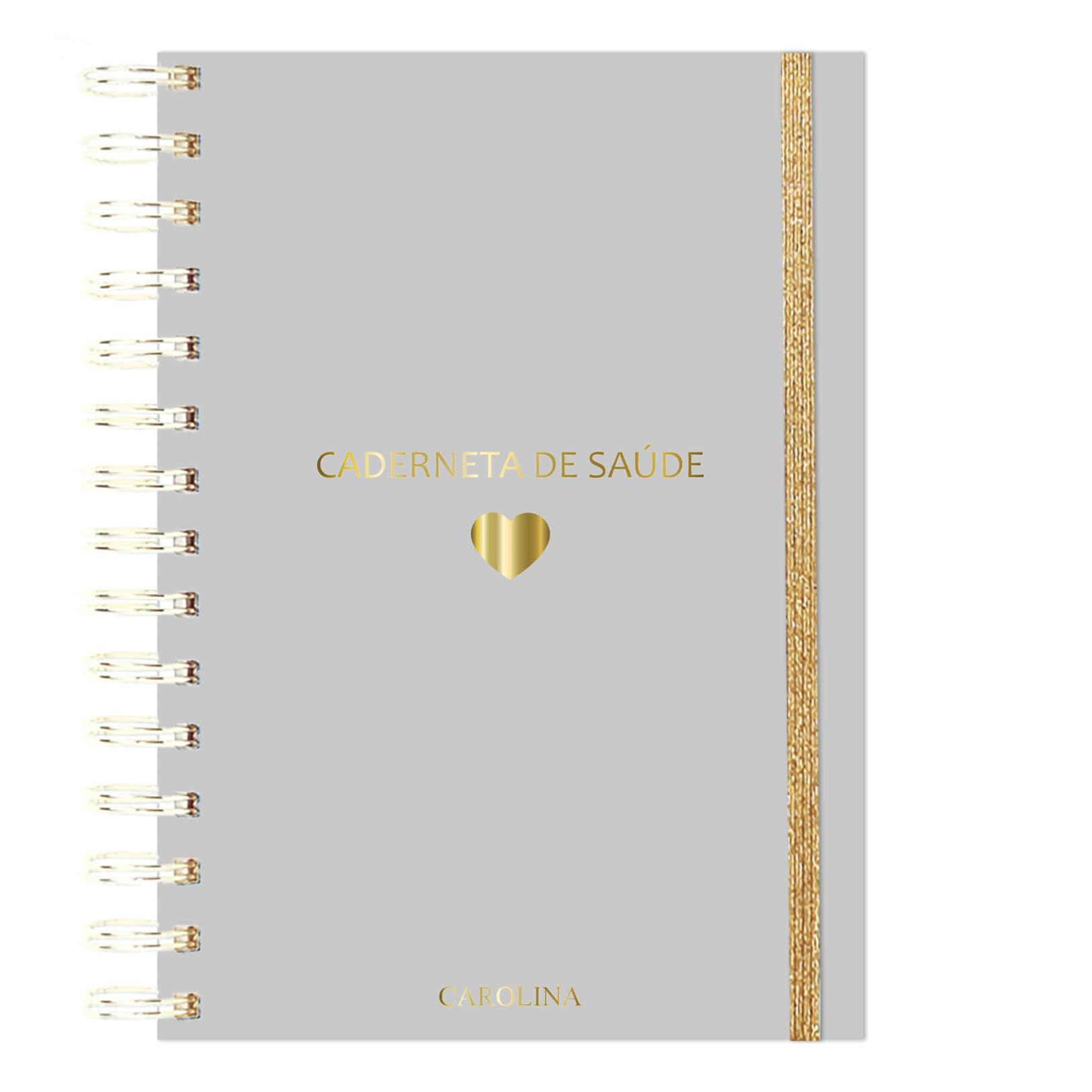 Caderneta de Saúde Cinza
