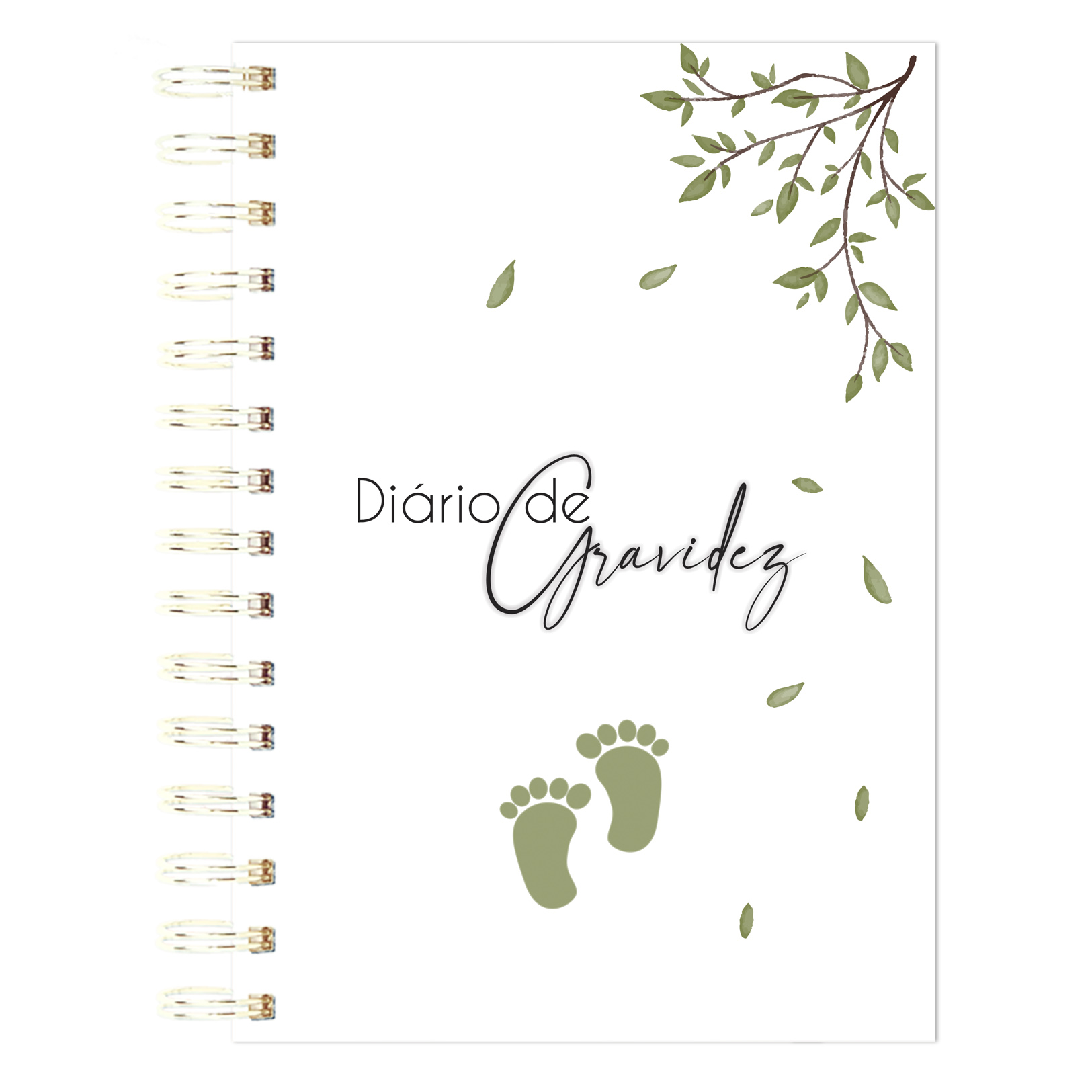 Diário de Gravidez - Meus passos