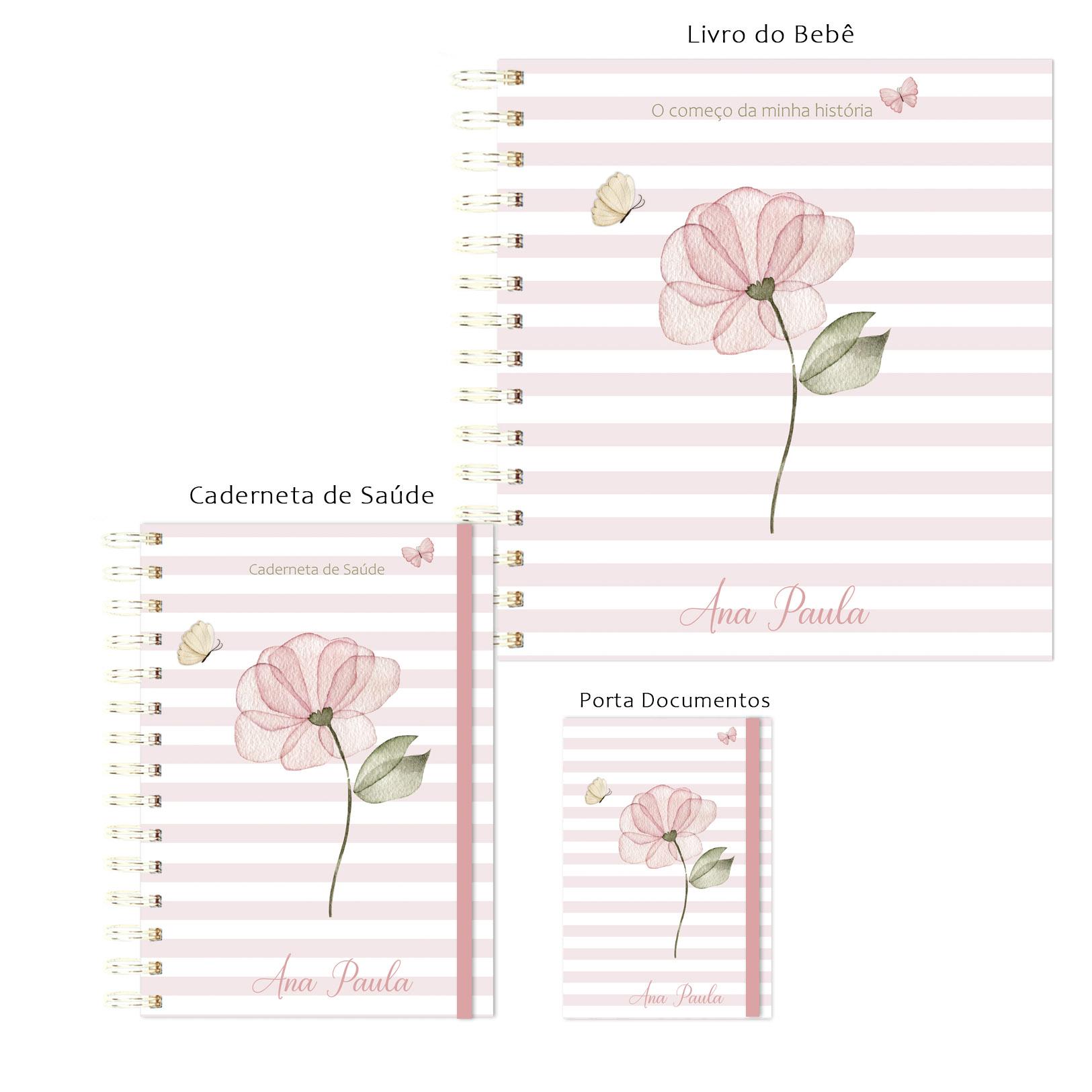 Kit Maternidade Amor em Flor