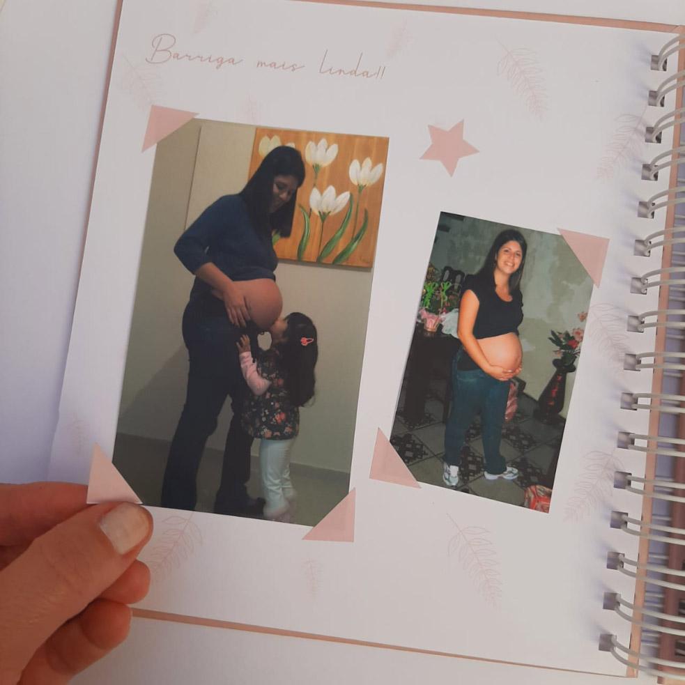 Livro do Bebê Cinza