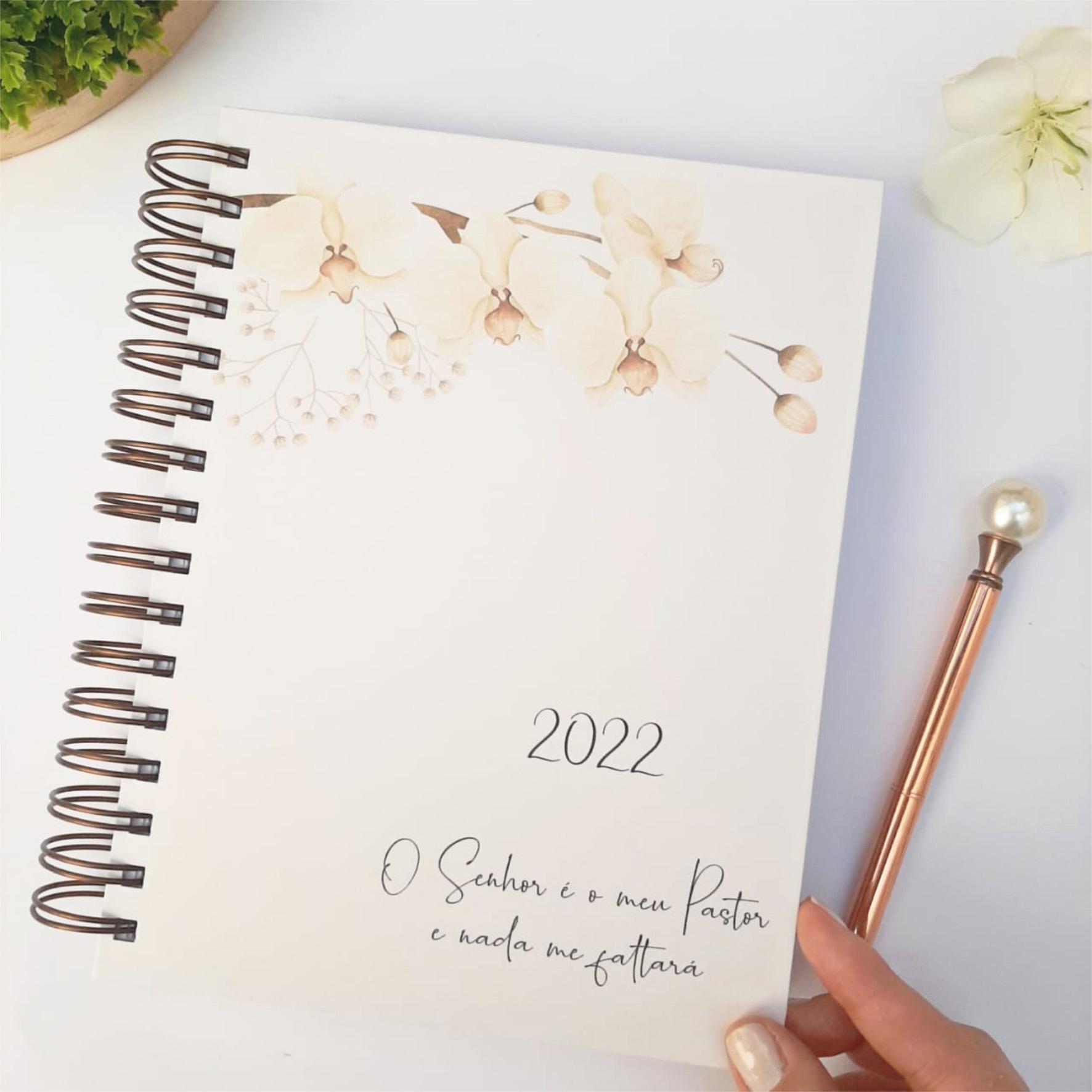 Planner da Mulher Cristã - Floral