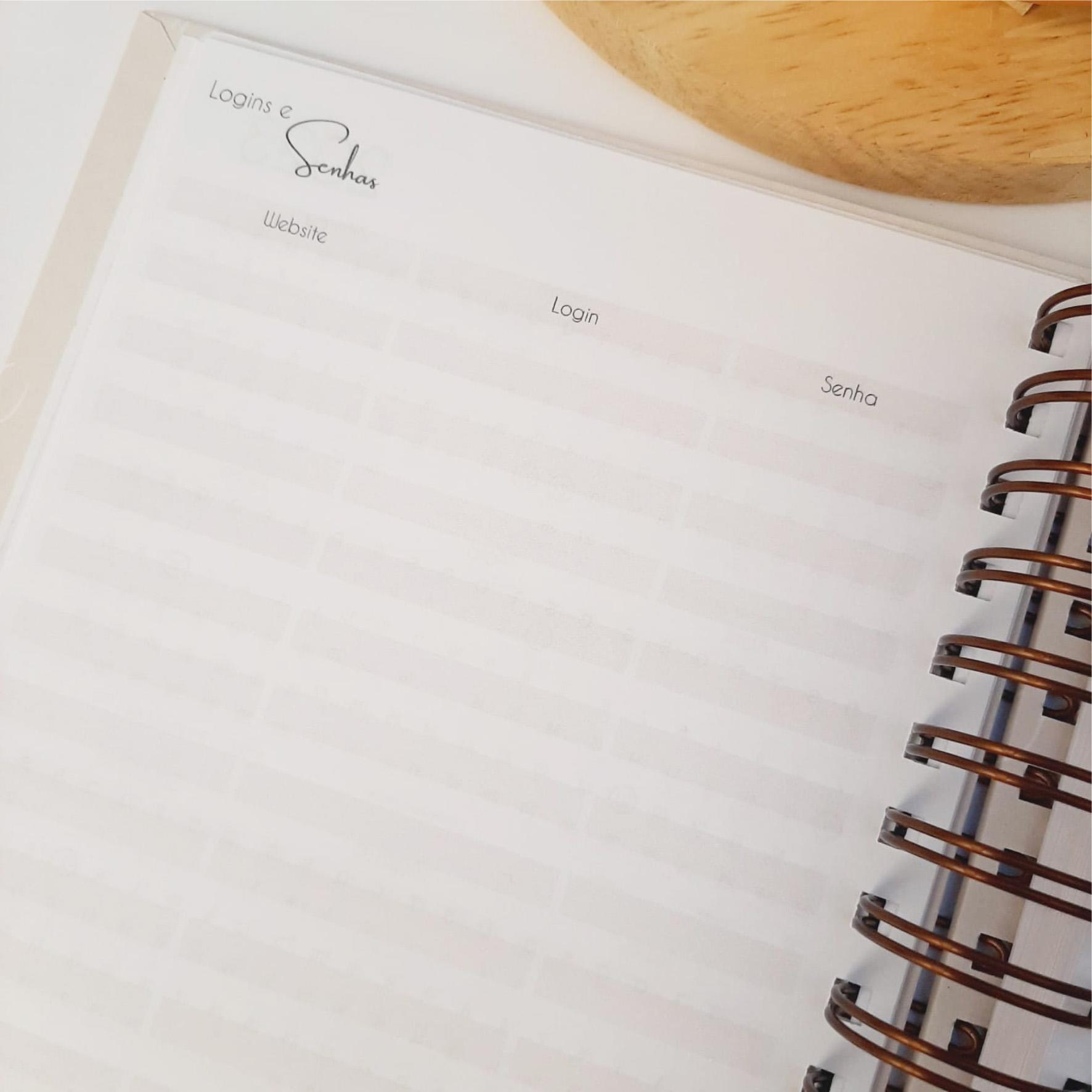Planner da Mulher Cristã - Lavanda