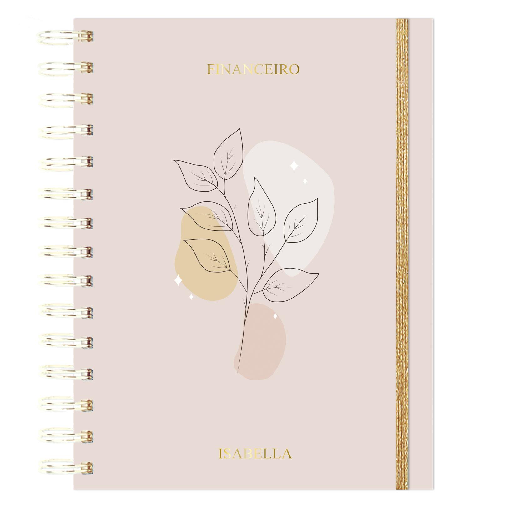 Planner Financeiro Floral