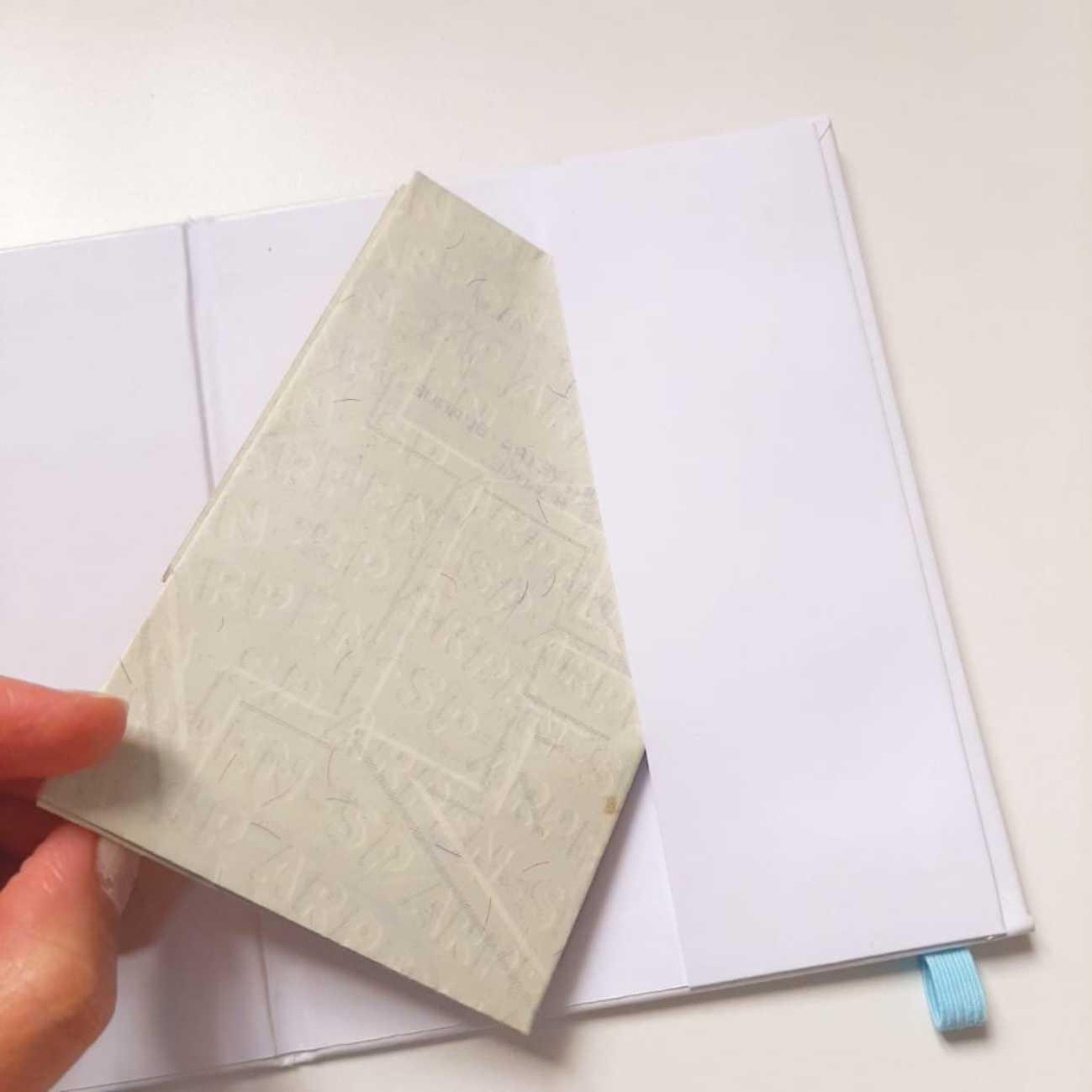 Porta Documentos Azul