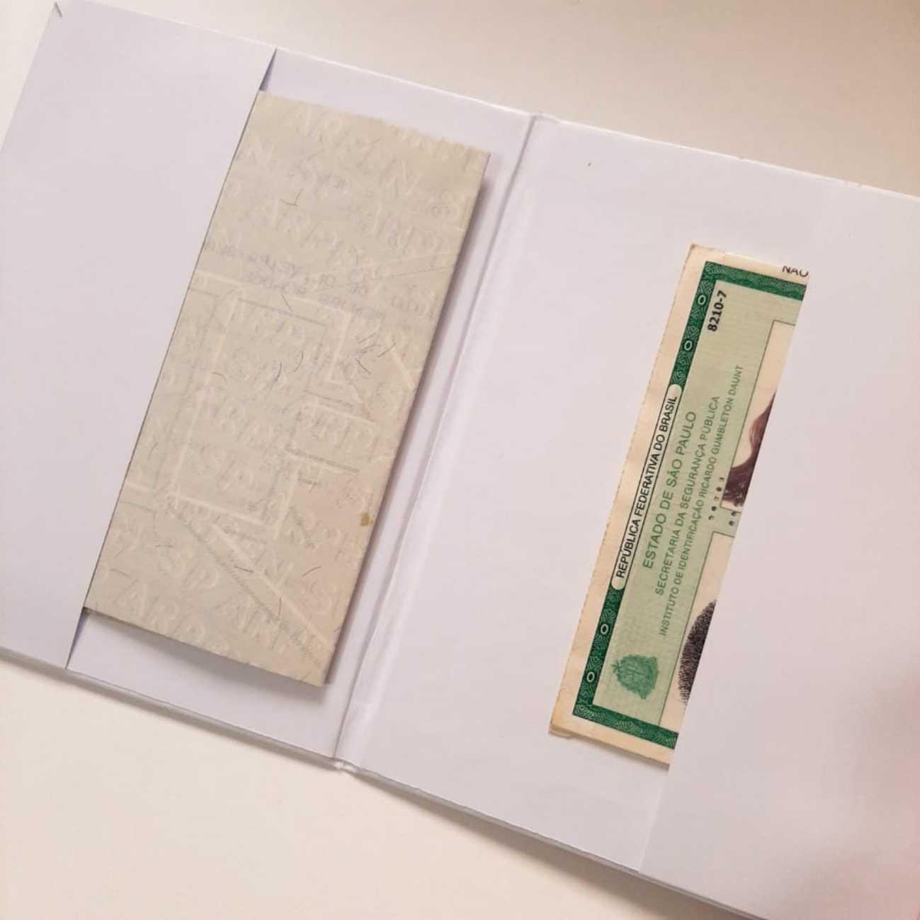Porta Documentos Verde