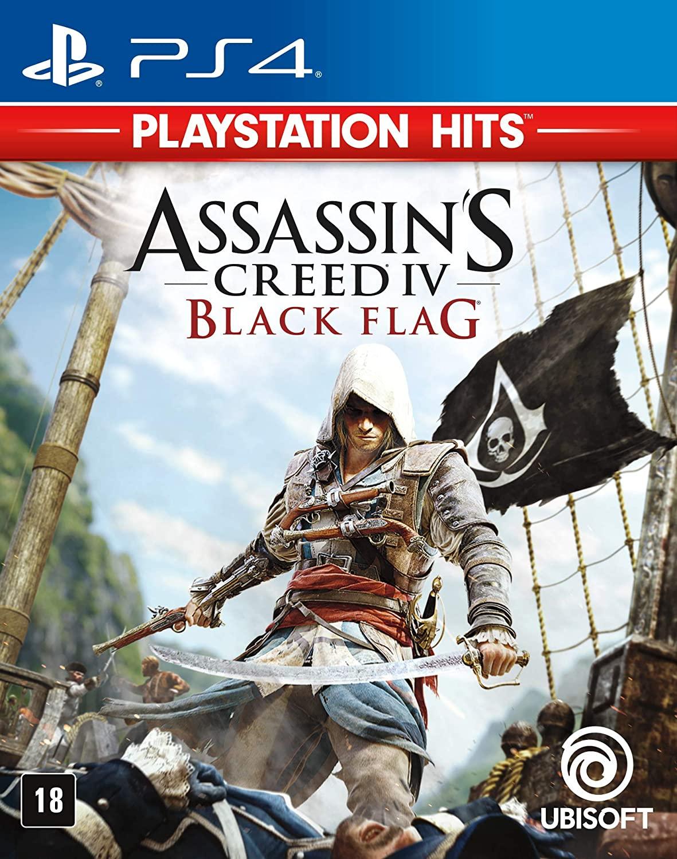 ASSASSINS CREED IV 4: BLACK FLAG PS4 - DUBLADO EM PORTUGUÊS