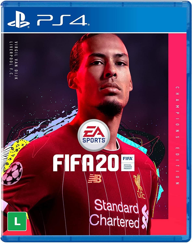 Fifa 20 Edição Champions - PS4