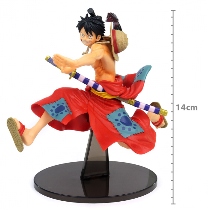 FIGURE ONE PIECE - MONKEY D LUFFY - BATTLE RECORD COLLECTION